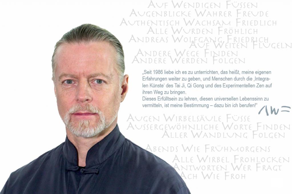 Andreas W Friedrich – Lehrer, Künstler, Philosoph